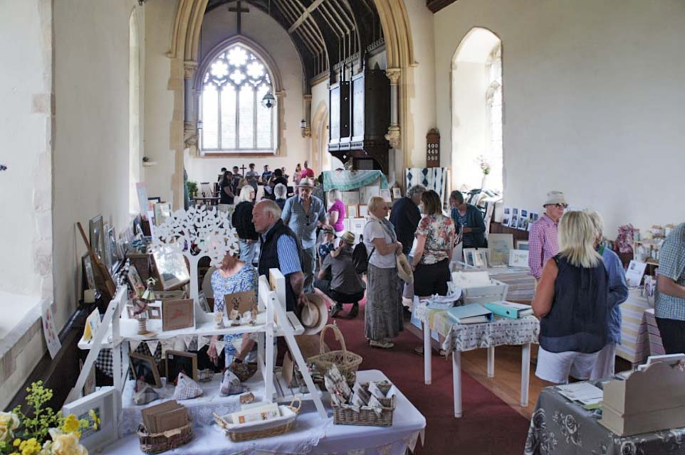 The Art Exhibition at St Mary's