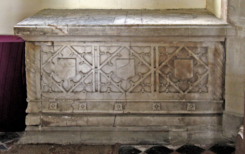 Tomb to Robert and Ann Drake 1485